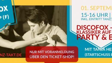 Discofox Workshop am 01.09.19 in der Burg