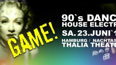 Game, Club, Nachtasyl, Thalia Theater, 90er, 90s, 90th, gay, House, Electro, Dance, Hamburg