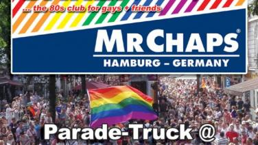 Mr. Chaps, Dare, Dare!, Parade Truck, Hamburg Pride, 2019, 19, Pride, Hamburg, St. Georg, Lange Reihe, Jungfernstieg, Pride Meile, CSD, gay, queer, germany, 80s, 80th, 80er, dj little l., frankie dare, ingo szogs, karl ludger menke, nachtasyl, thalia theater, pop, wave, italo, disco, high energy, dance classics