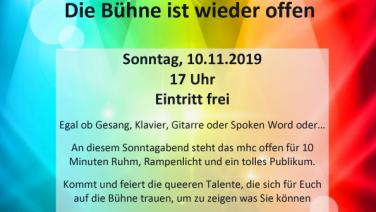 Queer Open Stage Hamburg