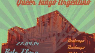 Queer Tango Argentino in der Roten Flora, 27.9.2014,, ab 21 Uhr
