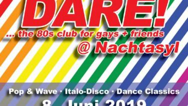 DARE! @ Nachtasyl, Thalia Theater, 80er, 80s, 80th, gay, Pop, Wave, Italo Disco, Dance Classics, Hamburg
