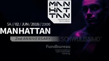 MANHATTAN - 2nd Anniversary
