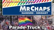 Mr. Chaps, Dare, Dare!, Parade Truck, Hamburg Pride, 2019, 19, Pride, Hamburg, St. Georg, Lange Reihe, Jungfernstieg, Pride Meile, CSD, gay, queer, germany, 80s, 80th, 80er, dj little l., frankie dare, ingo szogs, karl ludger menke, nachtasyl, thalia theater, pop, wave, italo, disco, high energy, dance classics