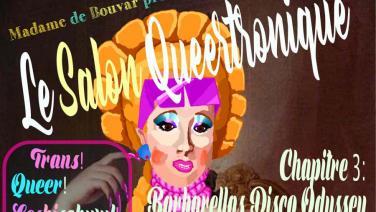Le Salon Queertronique- Transvisibility at the decks - Barbarella´s Disco Odyssey