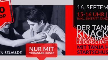 Flyer TanzTakt - das neue queer Tanzvergnügen in Hamburg