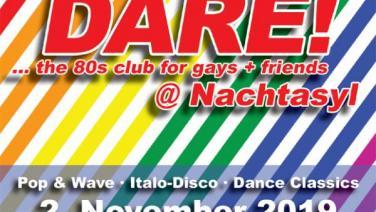 DARE! @ Nachtasyl, Thalia Theater, 80er, 80s, 80th, gay, queer, lgbt, Pop, Wave, Italo Disco, Dance Classics, Hamburg, frankie dare, wobo, wolfgang bonow, wham, young guns
