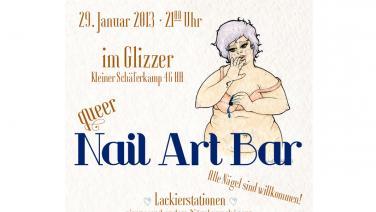 queer Nail Art Bar im glizzer