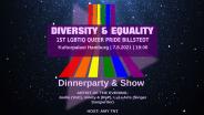 Diversity & Equality - 1st PRIDE EVENT BILLSTEDT -
